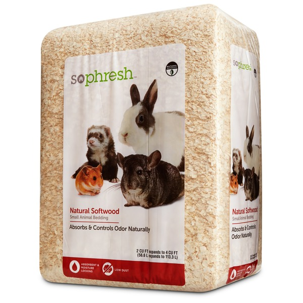 So Phresh Natural Softwood Small Animal Bedding 2 Cu. Ft.