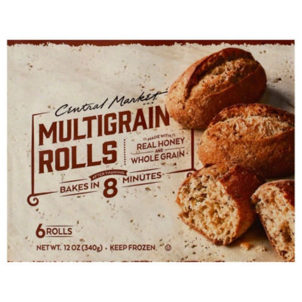 Central Market Whole Grain Honey Rolls