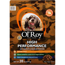 Ol' Roy High Performance Dry Dog Food 15-Pound Bag