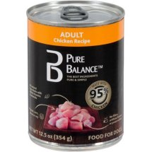 Pure Balance 95 Percent Chicken Canned Wet Dog Food, 12.5 Oz