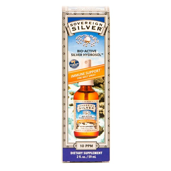 Sovereign Silver Bio-Active Silver Hydrosol 10 ppm Fine Mist Spray