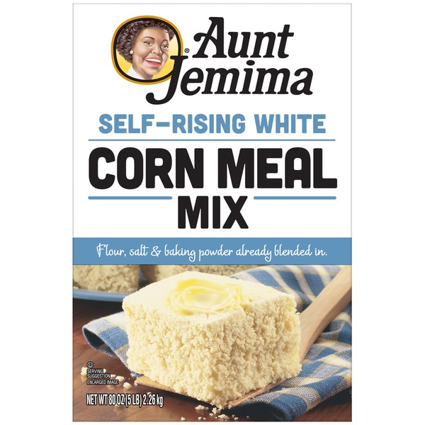 Aunt Jemima Self-Rising White Corn Meal Mix