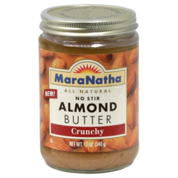 Maranatha All Natural No Stir Almond Butter Crunchy