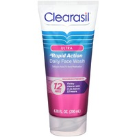 Clearasil Ultra Rapid Action Daily Face Wash Acne Medication