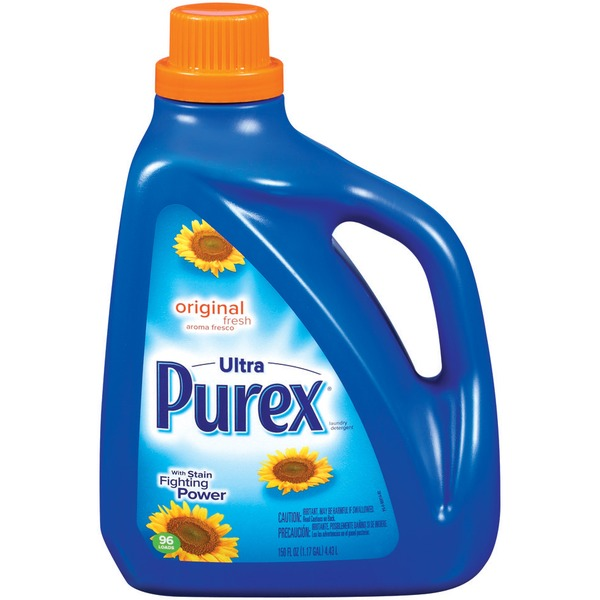 Purex Liquid Detergents Ultra Original Fresh Liquid Laundry Detergent