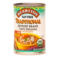 Bearitos Traditional Refried Beans Vegetarian Organic