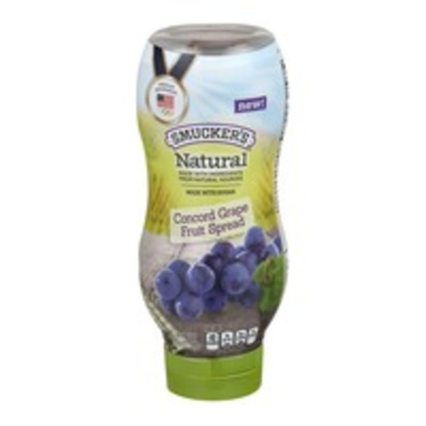 Smucker's Natural Concord Grape Fruit Spread