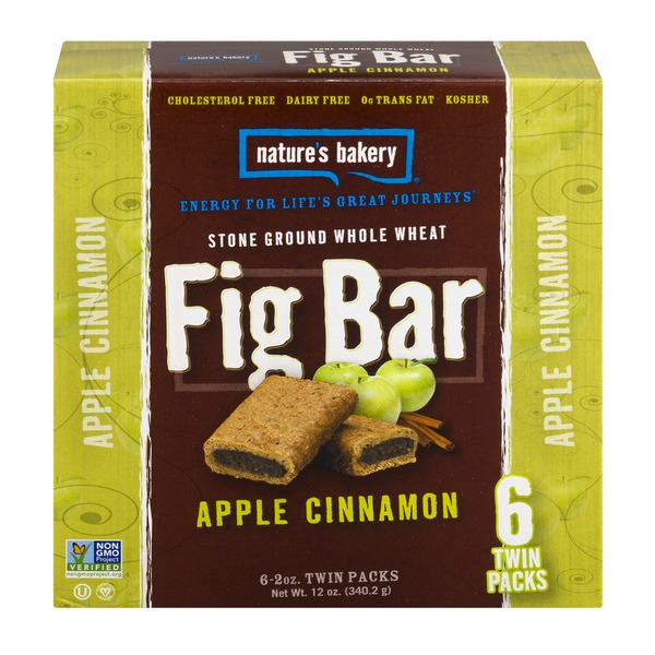 Nature's Bakery Fig Bar Apple Cinnamon - 6 CT
