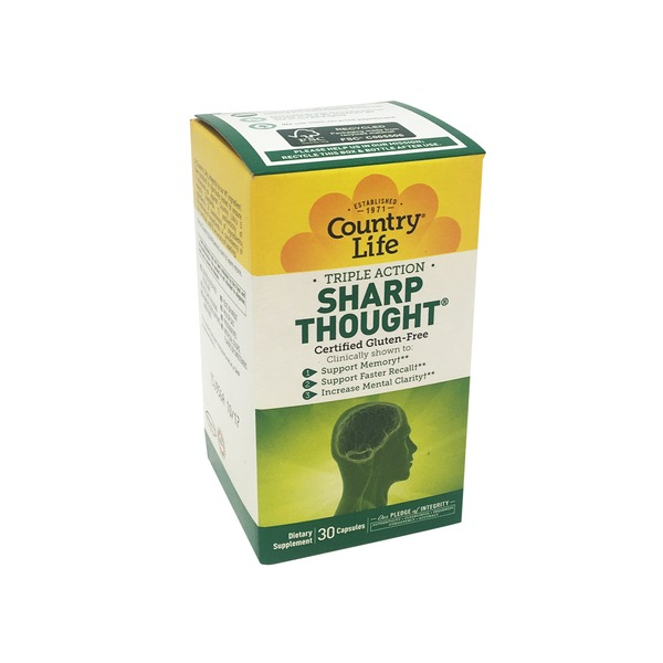 Country Life Sharp Thought Capsules