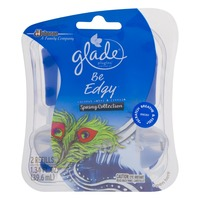 Glade PlugIns Be Edgy Coconut Water & Freesia Spring Collection -2 CT