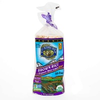 Lundberg Family Farms Brown Rice Organic Rice Cakes Salt-Free