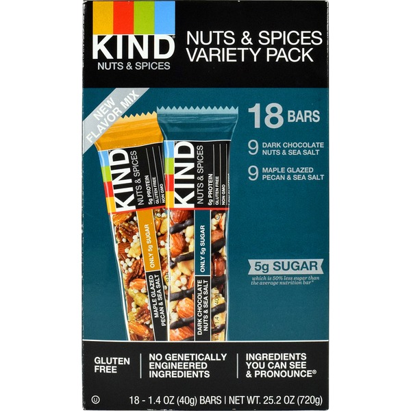 KIND Nut & Spices Variety Pack Bars