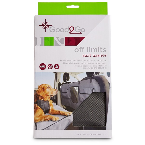 Good 2 Go Off Limits Car Seat Barrier