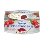 Philadelphia Cheesecake Cups Strawberry - 2 CT