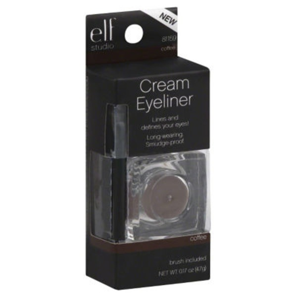 e.l.f. Studio Cream Eyeliner - Coffee