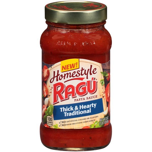 Ragu Homestyle Thick & Hearty Traditional Pasta Sauce