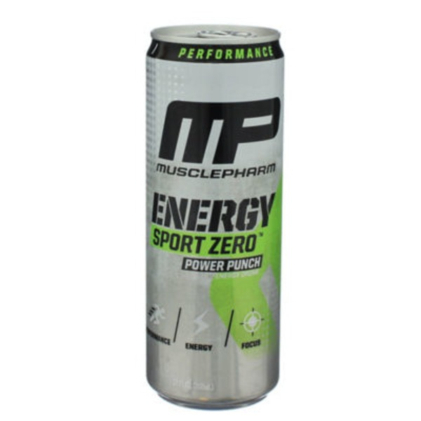 MusclePharm Power Punch Sport Zero Energy Drink