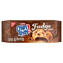 Nabisco Chips Ahoy! Chewy Fudge Filled Soft Cookies, 10 oz