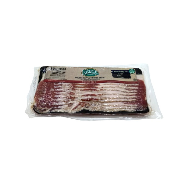 Pedersons Natural Farms Uncured Applewood Smoked Bacon