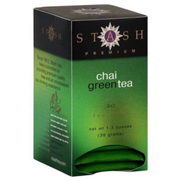 Stash Tea Chai Green Tea