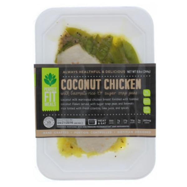 Perfect Fit Meals Coconut Chicken