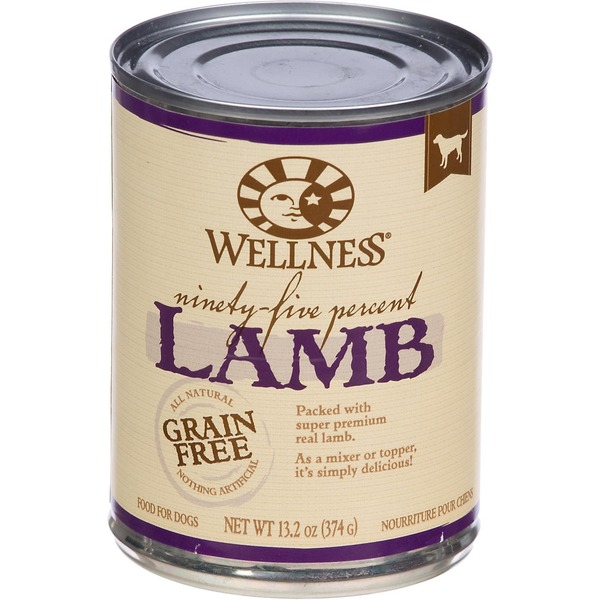 Wellness 95% Lamb Recipe Canned Dog Food