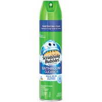 Scrubbing Bubbles Disinfectant Fresh Clean Scent Bathroom Cleaner