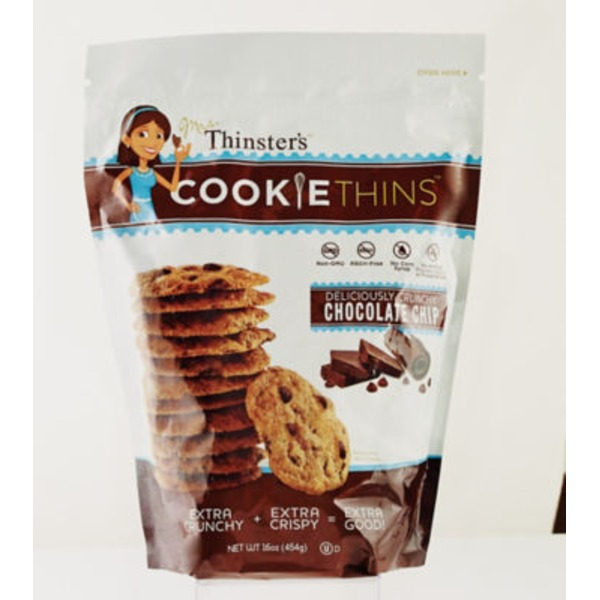 Mrs Thinsters Cookie Thins, Chocolate Chip