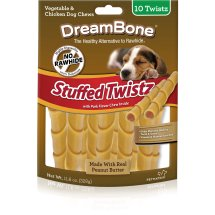 DreamBone Stuffed Twistz - 10 CT
