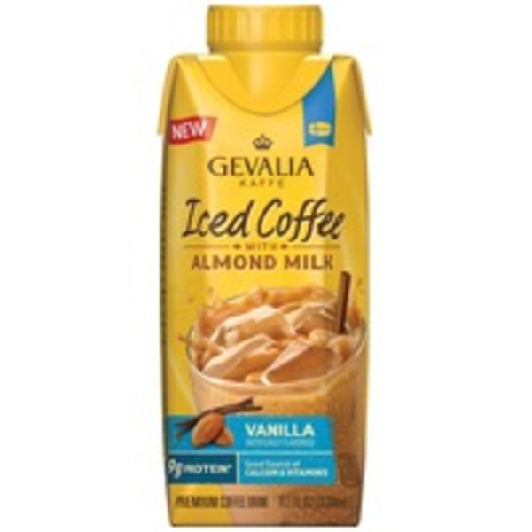 Gevalia Vanilla with Almond Milk Iced Coffee