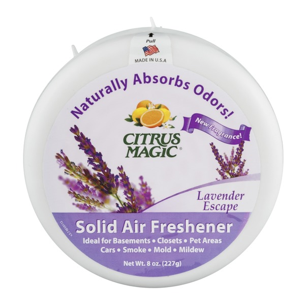 Citrus Magic Solid Air Freshener Lavender Escape