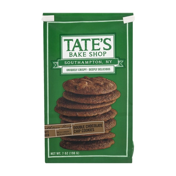 Tate's Bake Shop Double Chocolate Chip Cookies