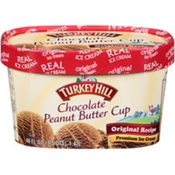 Turkey Hill Chocolate Peanut Butter Cup Premium Ice Cream