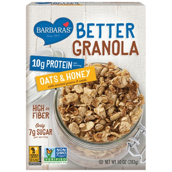 Better Granola Oats & Honey Granola