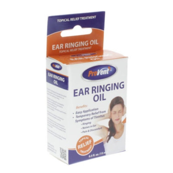 Provent Topical Relief Treatment Ear Ringing Oil