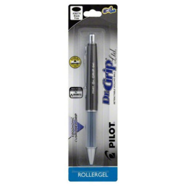 Pilot Retractable Fine Black Gel Ink Pen