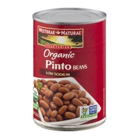 Westbrae Natural Vegetarian Organic Pinto Beans Low Sodium