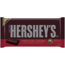 Hershey's Giant Dark Chocolate Candy Bar, 6.8 Oz