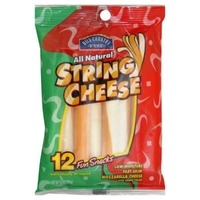 Hill Country Fare String Cheese Cheddar/Mozzarella