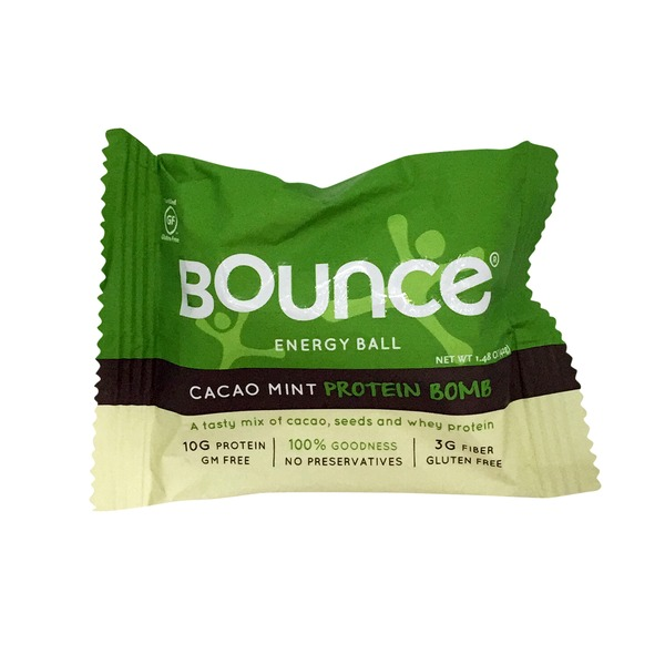 Bounce Cacao Mint Protein Bomb Energy Ball