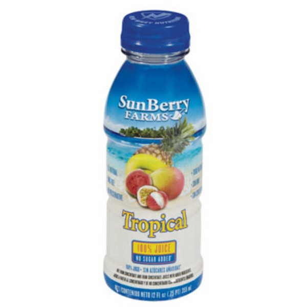 Sun Berry Farms Tropical 100% Juice
