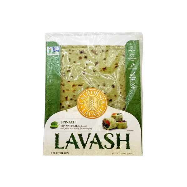 California Lavash Spinach Lavash