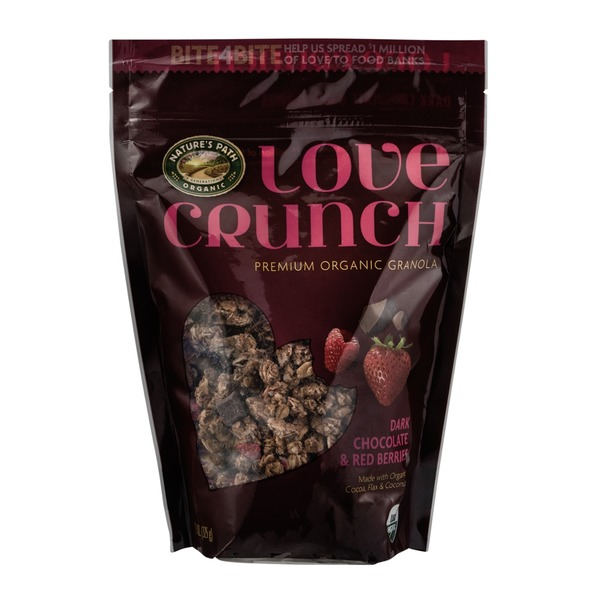 Nature's Path Organic Love Crunch Granola Dark Chocolate & Red Berries