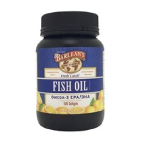 Barlean's Orange Flavor Fish Oil