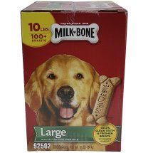 Milk Bone Large Dog Treats, 10 Lb.