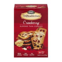 Nonni's® THINaddictives™ Cranberry Almond Thins 6 ct Freshness Packs
