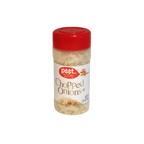 Psst (Kroger) Brand Dried Chopped Onions