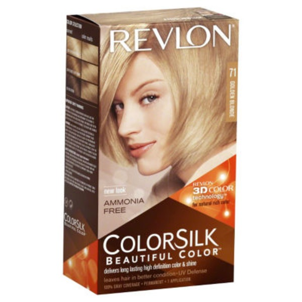 Revlon Colorsilk Beautiful Color Golden Blonde 71