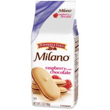 Pepperidge Farm Milano Raspberry Flavored Chocolate Cookies 7 oz. Stand Up Bag
