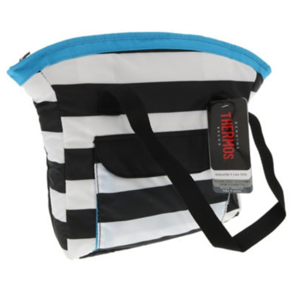Raya Striped Lunch Tote